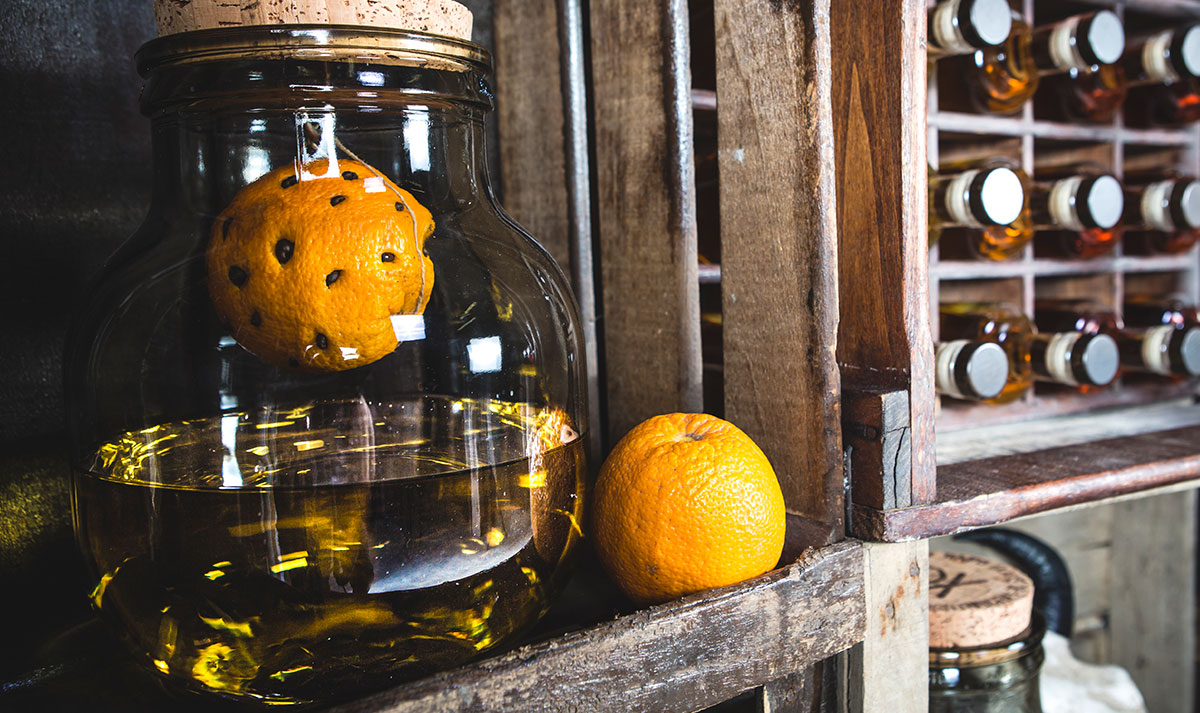 rhum 44 arrangé orange café